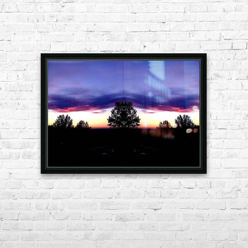 nube 48 HD Sublimation Metal print with Decorating Float Frame (BOX)