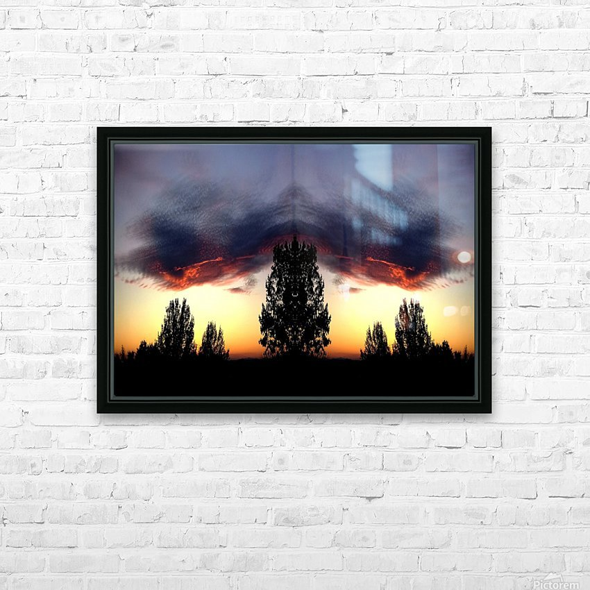 nube 49 HD Sublimation Metal print with Decorating Float Frame (BOX)