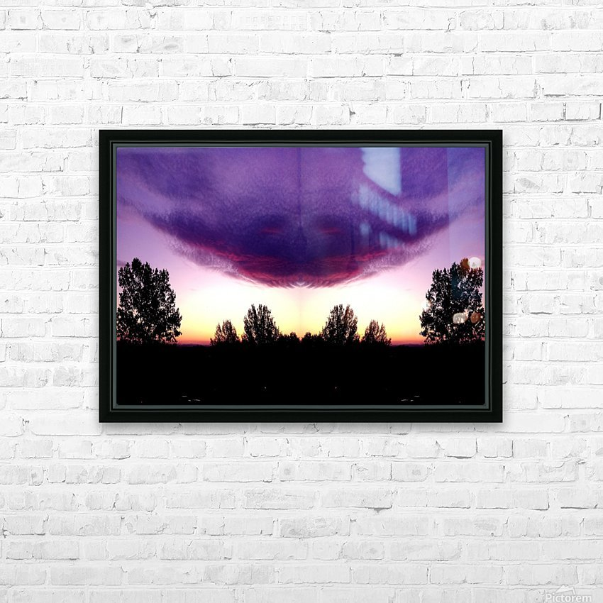 nube 50 HD Sublimation Metal print with Decorating Float Frame (BOX)
