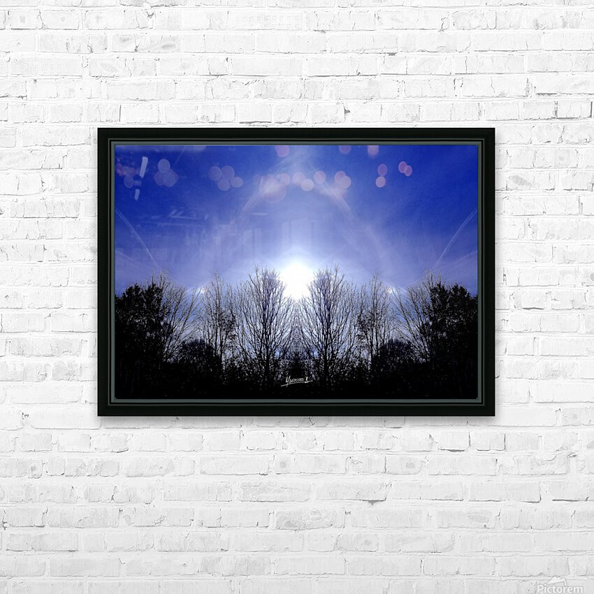 nube 55 HD Sublimation Metal print with Decorating Float Frame (BOX)