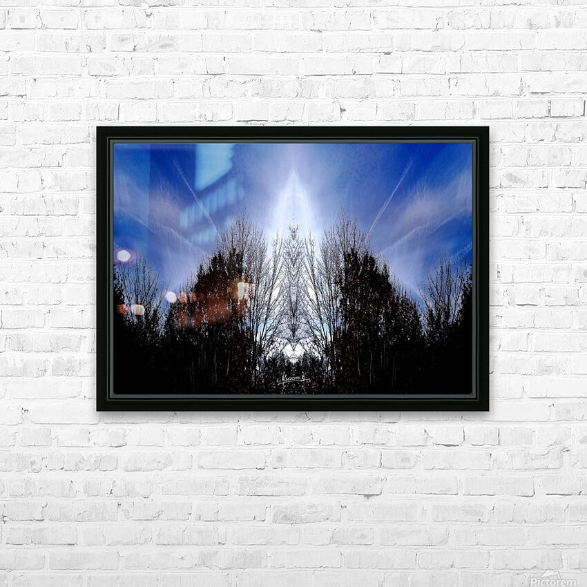 nube 56 HD Sublimation Metal print with Decorating Float Frame (BOX)