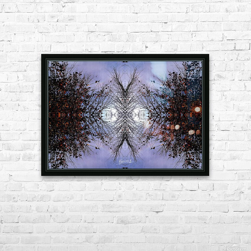 nube 57 HD Sublimation Metal print with Decorating Float Frame (BOX)