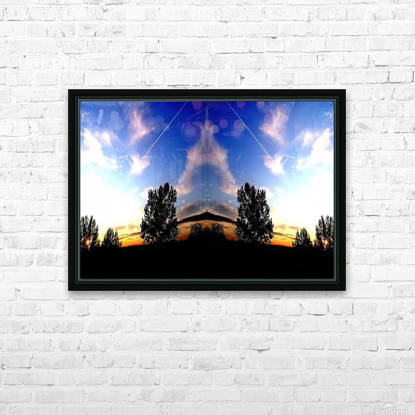 nube 59 HD Sublimation Metal print with Decorating Float Frame (BOX)