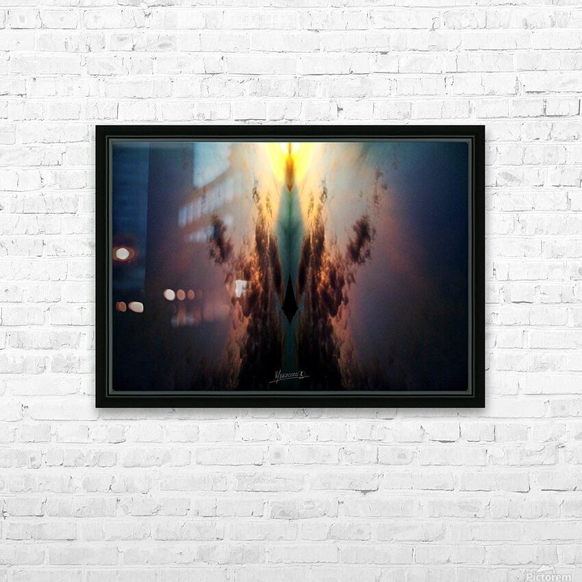 Skipe 4 HD Sublimation Metal print with Decorating Float Frame (BOX)