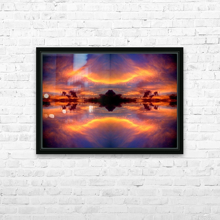 Skipe 24 HD Sublimation Metal print with Decorating Float Frame (BOX)