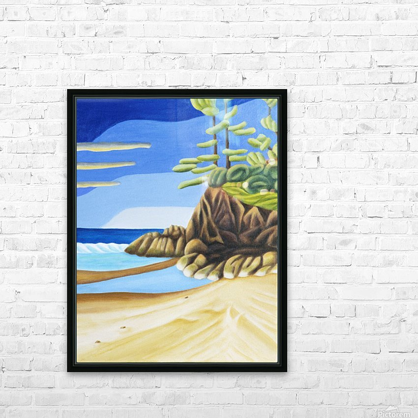 Near Manitoulin HD Sublimation Metal print with Decorating Float Frame (BOX)