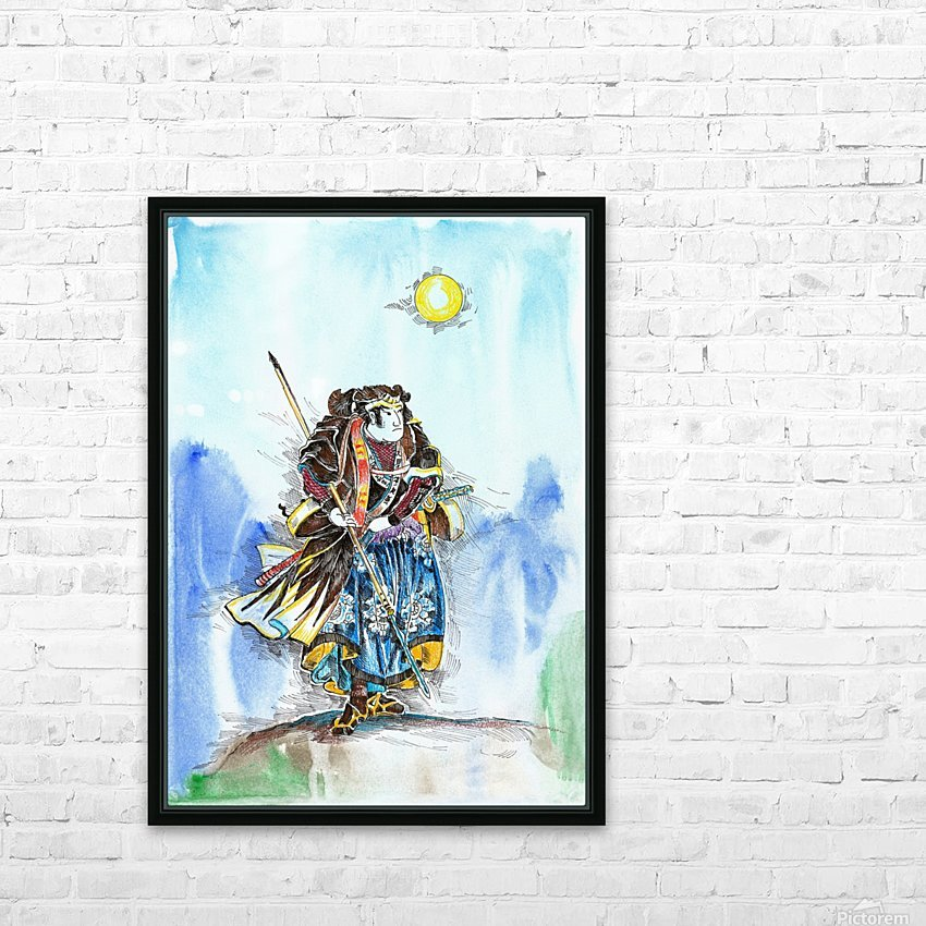 The_Warrior_s_Way_2 HD Sublimation Metal print with Decorating Float Frame (BOX)