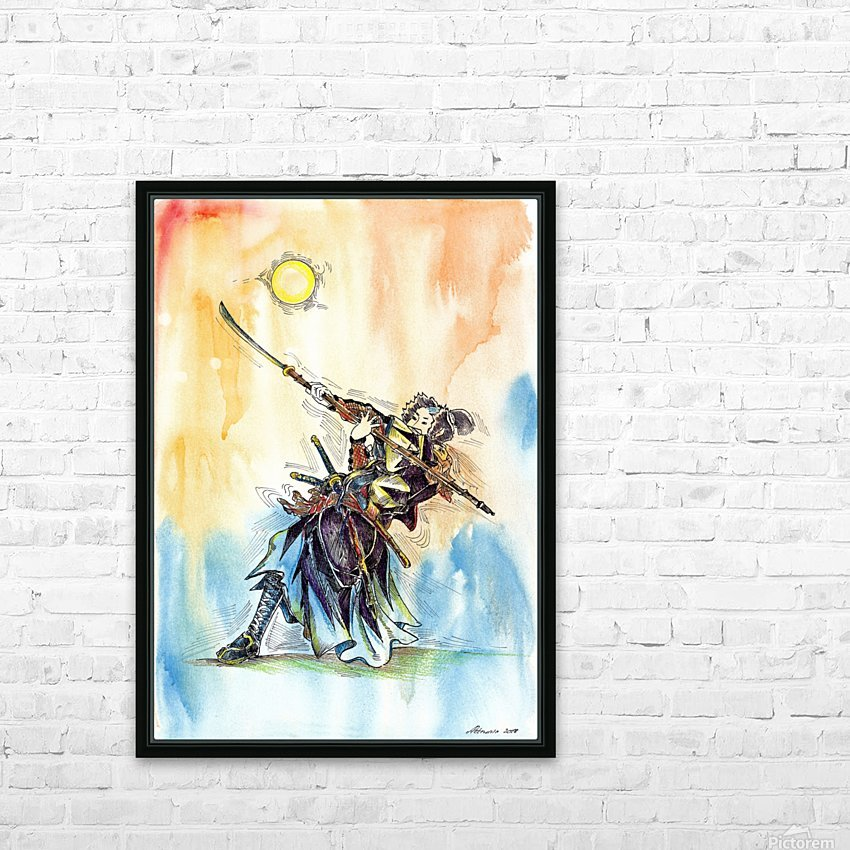 The_Warrior_s_Way HD Sublimation Metal print with Decorating Float Frame (BOX)