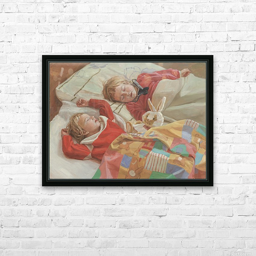Golden_Slumbers HD Sublimation Metal print with Decorating Float Frame (BOX)