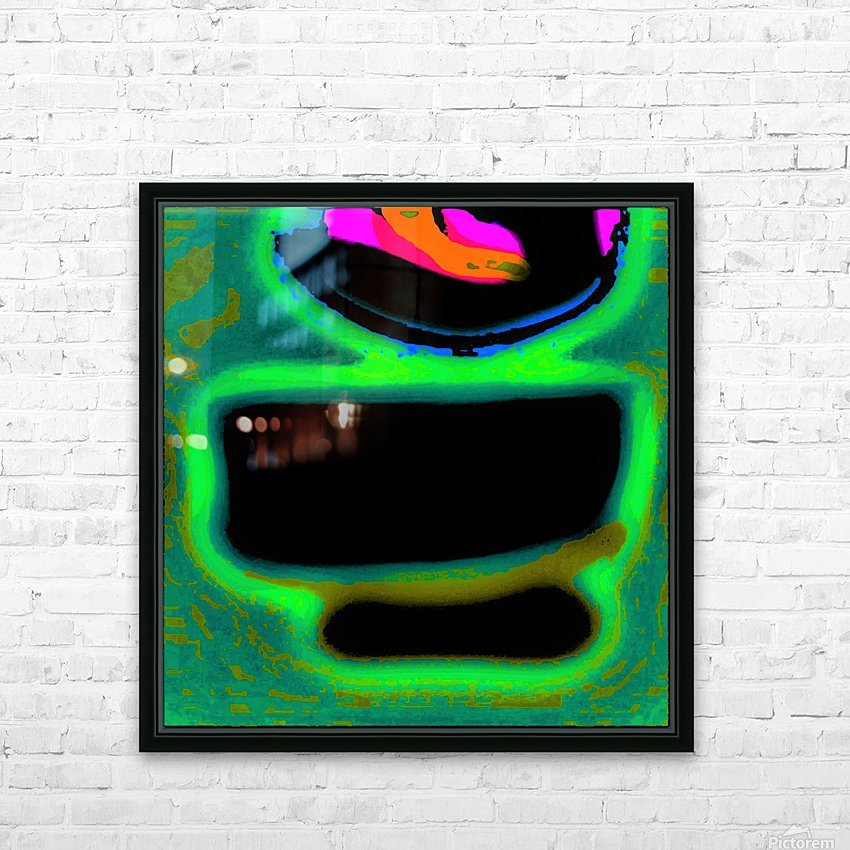 The Chawan II 375 HD Sublimation Metal print with Decorating Float Frame (BOX)