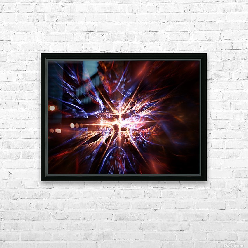 Syndrome HD Sublimation Metal print with Decorating Float Frame (BOX)