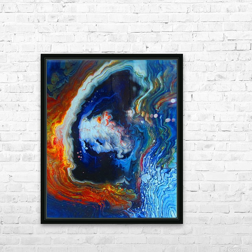 Deep Space HD Sublimation Metal print with Decorating Float Frame (BOX)