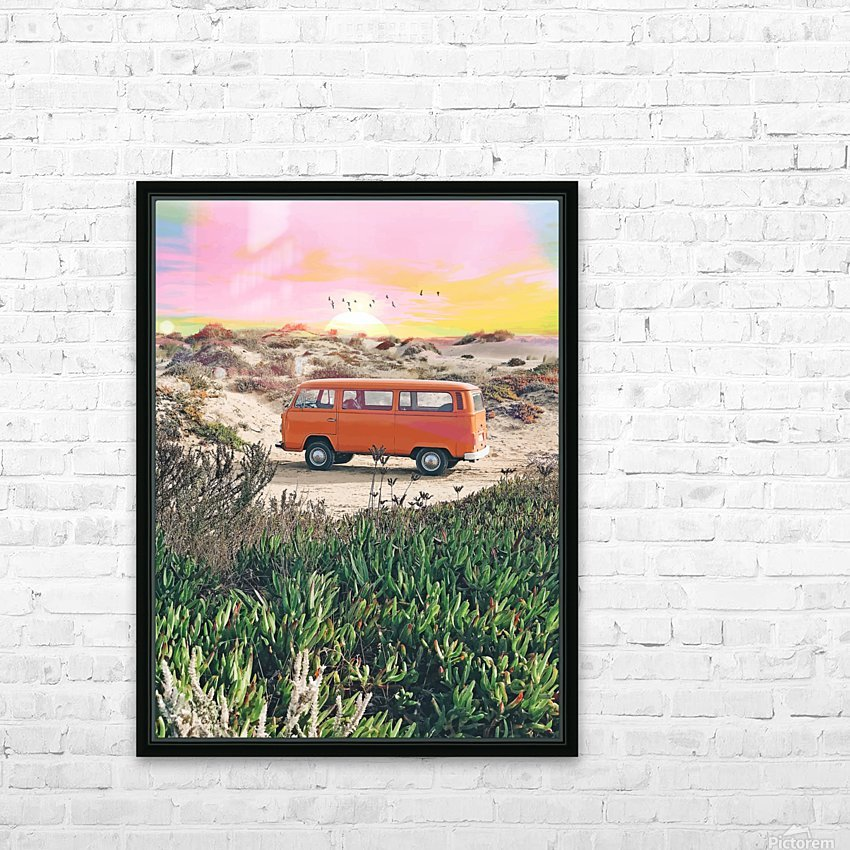 Summer Adventure HD Sublimation Metal print with Decorating Float Frame (BOX)