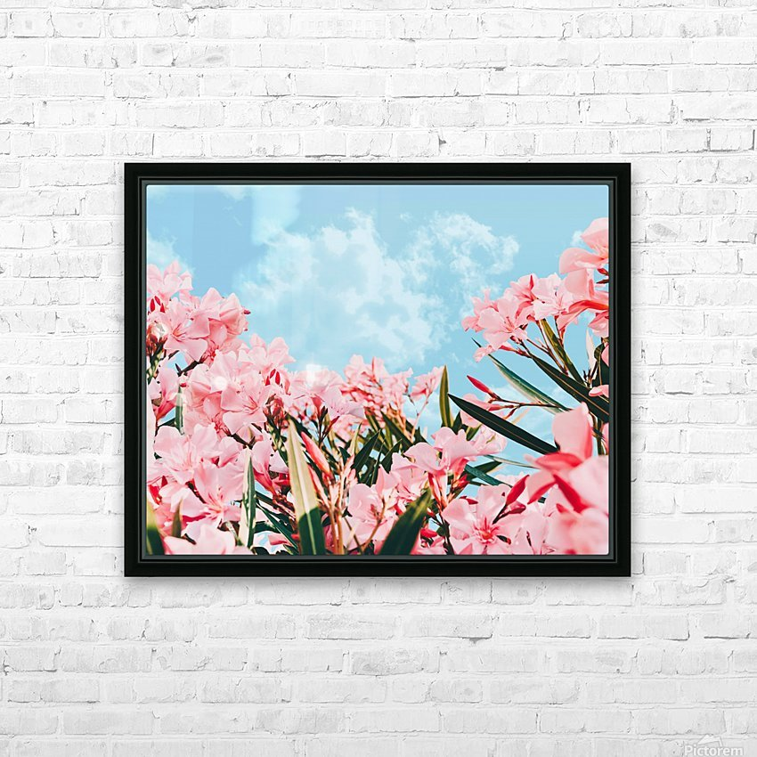Blush Blossom II HD Sublimation Metal print with Decorating Float Frame (BOX)