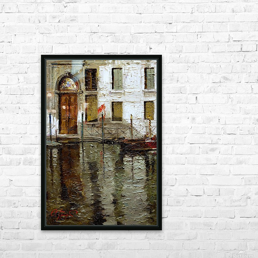 In_Venice HD Sublimation Metal print with Decorating Float Frame (BOX)