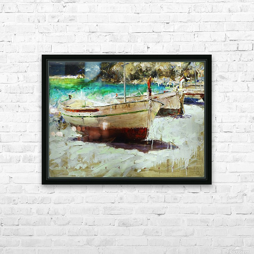 Panorama1 HD Sublimation Metal print with Decorating Float Frame (BOX)