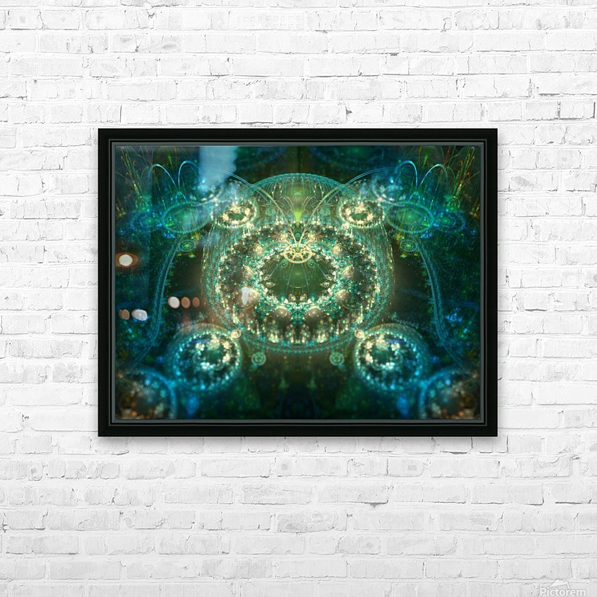 Asgard HD Sublimation Metal print with Decorating Float Frame (BOX)