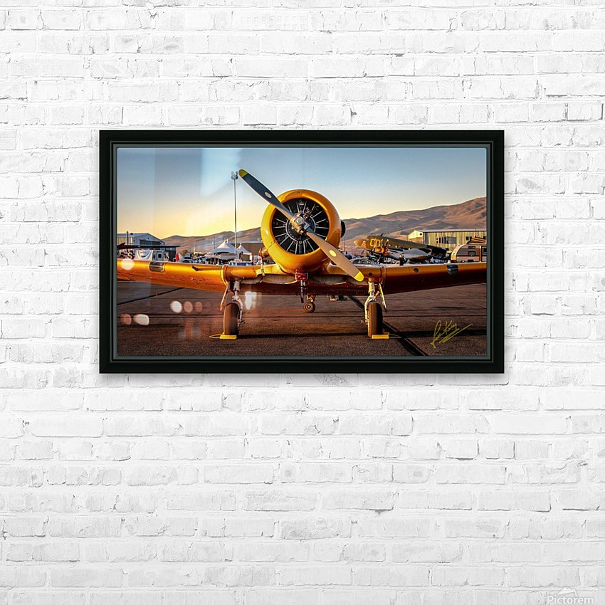 John King 11 HD Sublimation Metal print with Decorating Float Frame (BOX)