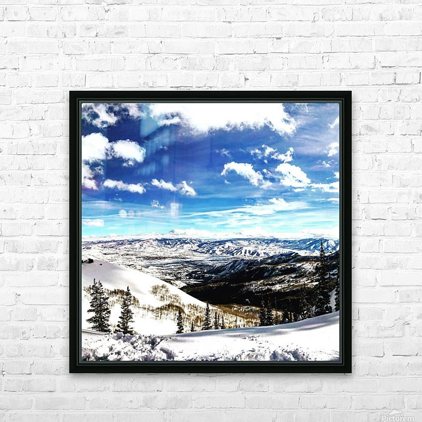 Brighton Resort Back Country HD Sublimation Metal print with Decorating Float Frame (BOX)