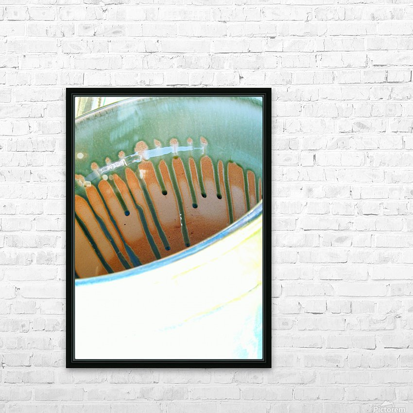 Beautiful Pottery Photograph HD Sublimation Metal print with Decorating Float Frame (BOX)