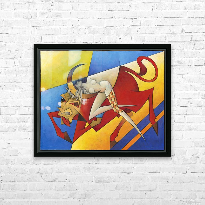 Europa HD Sublimation Metal print with Decorating Float Frame (BOX)