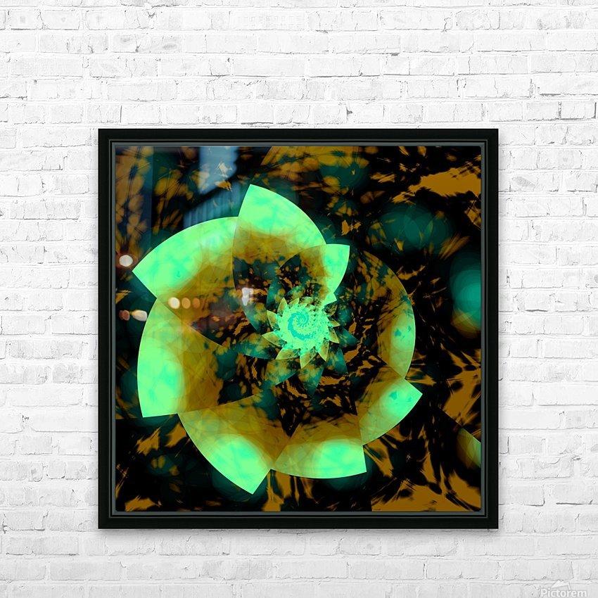 Digital_Vegetation HD Sublimation Metal print with Decorating Float Frame (BOX)