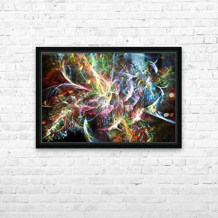 Dharma HD Sublimation Metal print with Decorating Float Frame (BOX)