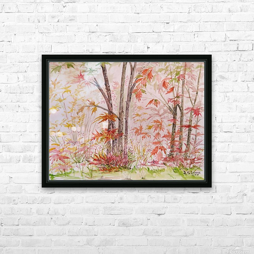 Autumn_DKS HD Sublimation Metal print with Decorating Float Frame (BOX)