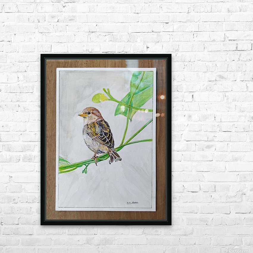 Sparrow_DKS HD Sublimation Metal print with Decorating Float Frame (BOX)