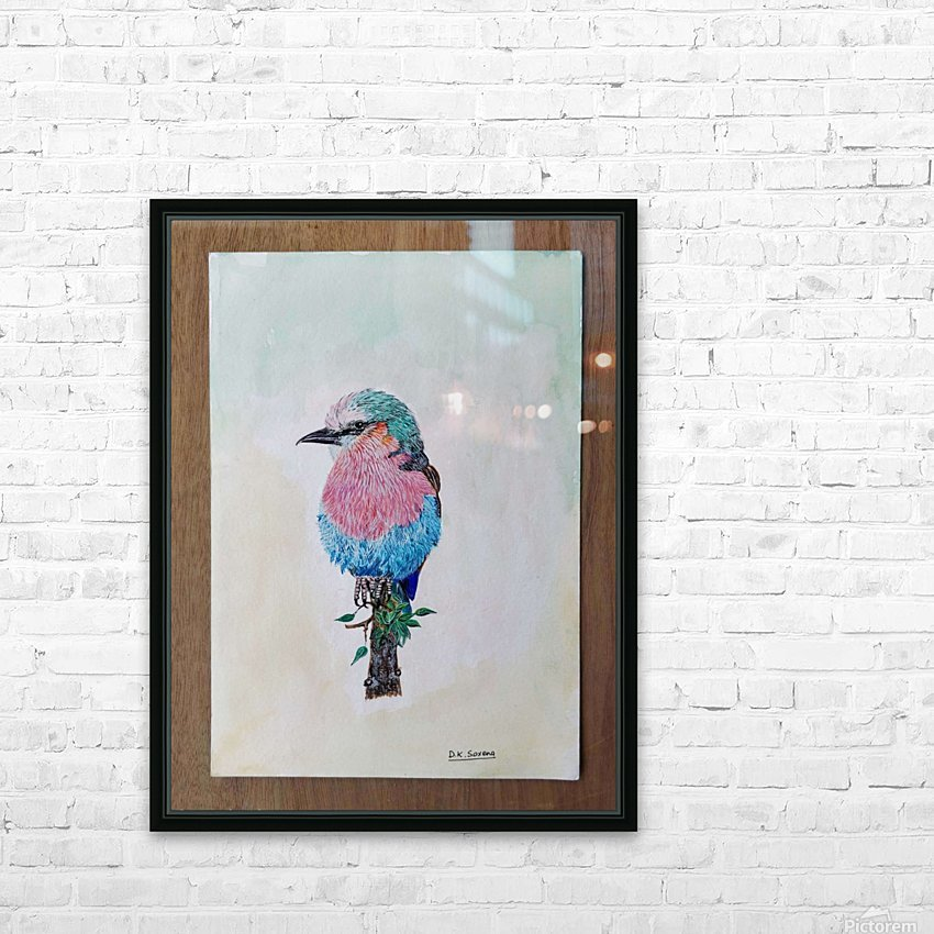 Robin_DKS HD Sublimation Metal print with Decorating Float Frame (BOX)