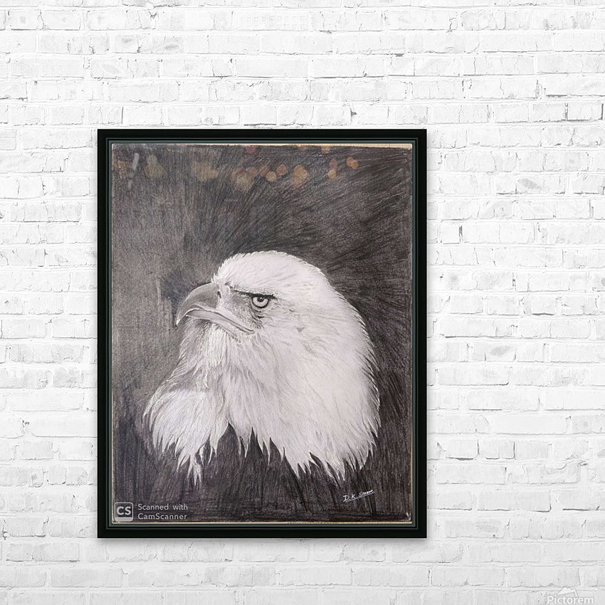 Eagle_DKS HD Sublimation Metal print with Decorating Float Frame (BOX)