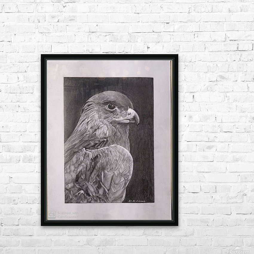 Falcon_DKS HD Sublimation Metal print with Decorating Float Frame (BOX)