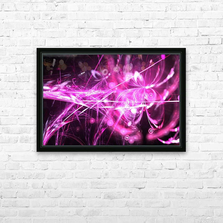 Blooming lilac HD Sublimation Metal print with Decorating Float Frame (BOX)