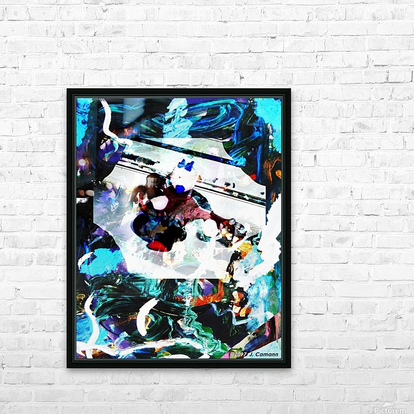 Strumming Patterns HD Sublimation Metal print with Decorating Float Frame (BOX)