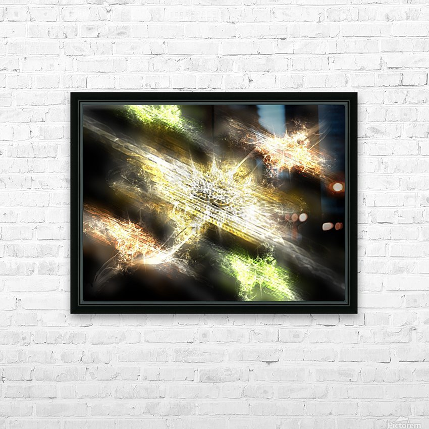 Path to nowhere HD Sublimation Metal print with Decorating Float Frame (BOX)