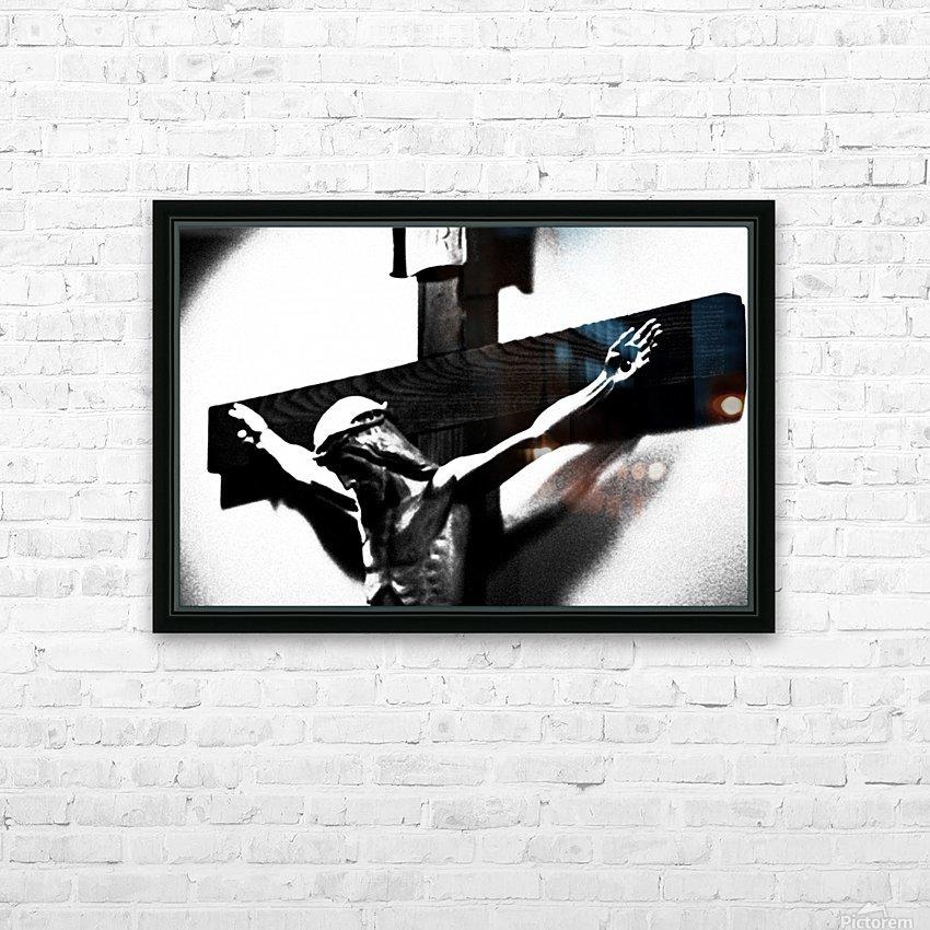 Savior 1 HD Sublimation Metal print with Decorating Float Frame (BOX)