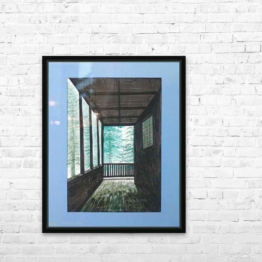 Guest House_DKS HD sublimation métal imprimé avec décoration flotteur cadre (boîte)