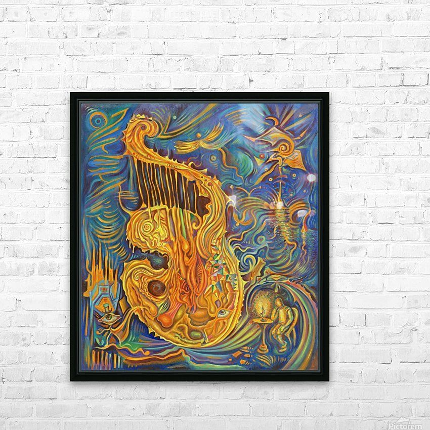Artist_s_Soul HD Sublimation Metal print with Decorating Float Frame (BOX)