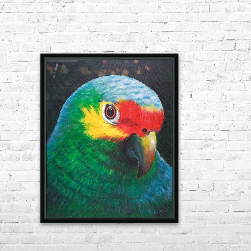 Sam HD Sublimation Metal print with Decorating Float Frame (BOX)