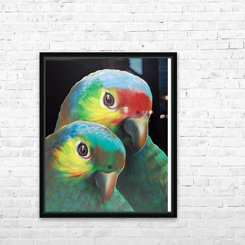 Sam and awesam HD Sublimation Metal print with Decorating Float Frame (BOX)