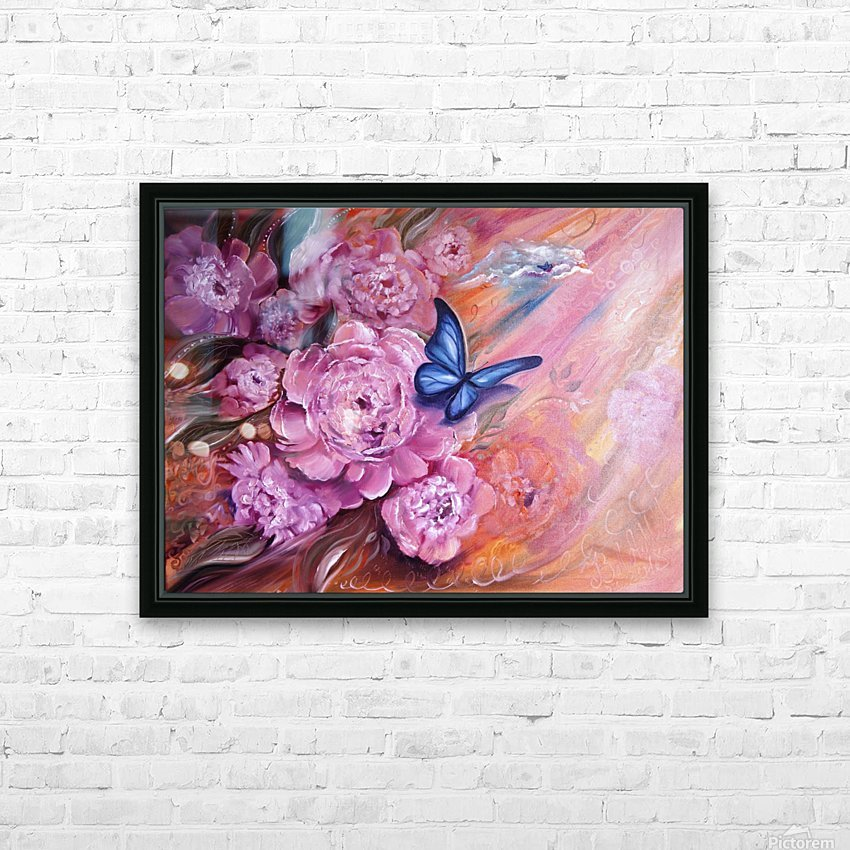 Flowers. Beauty. HD Sublimation Metal print with Decorating Float Frame (BOX)