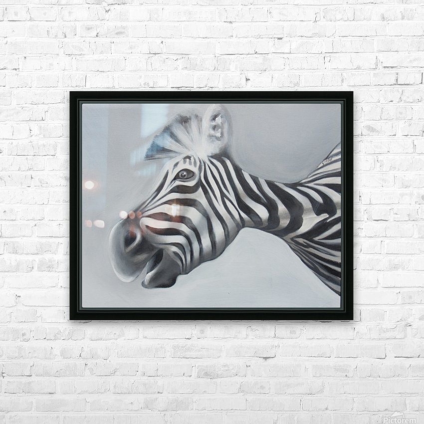 whats up HD Sublimation Metal print with Decorating Float Frame (BOX)