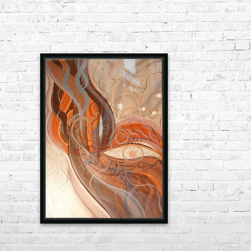 Smoke HD Sublimation Metal print with Decorating Float Frame (BOX)