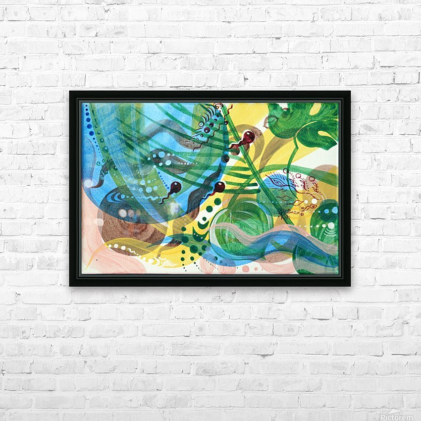 GARMONIY HD Sublimation Metal print with Decorating Float Frame (BOX)