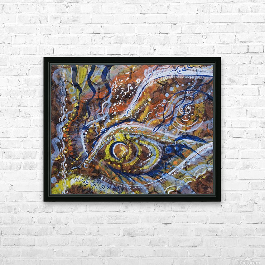 A celebration of Cedar from the Shamanic dance HD Sublimation Metal print with Decorating Float Frame (BOX)