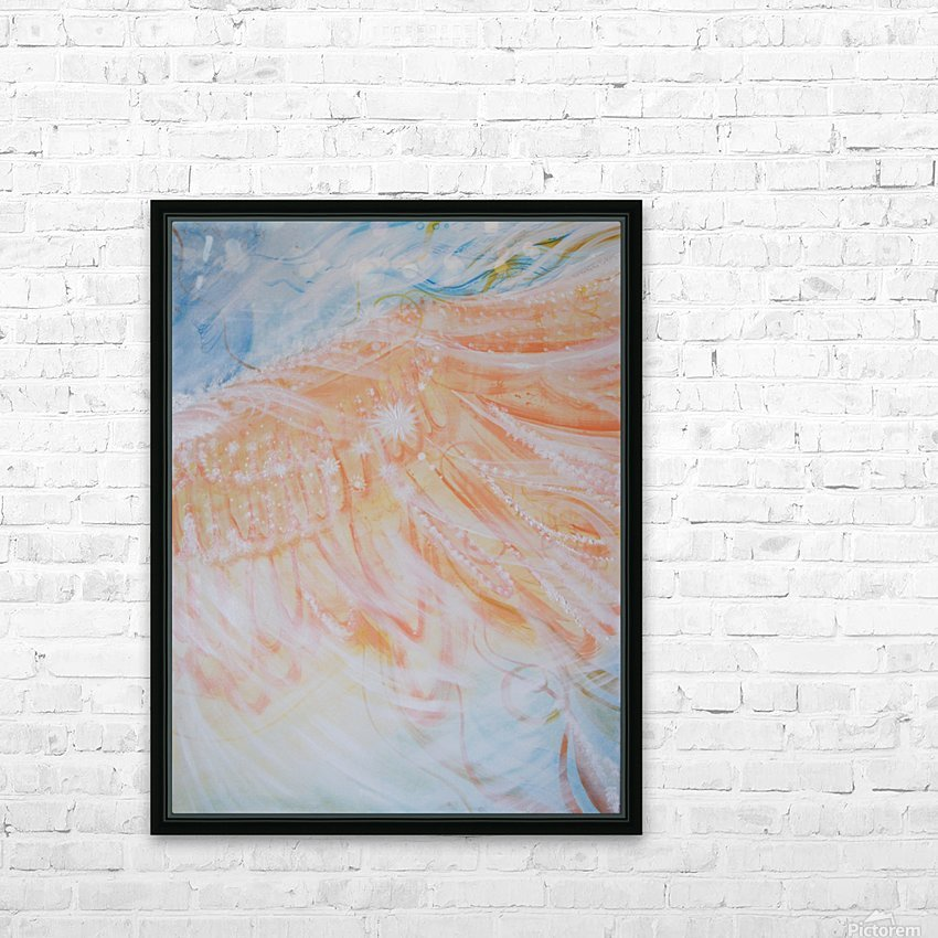 Wing HD Sublimation Metal print with Decorating Float Frame (BOX)
