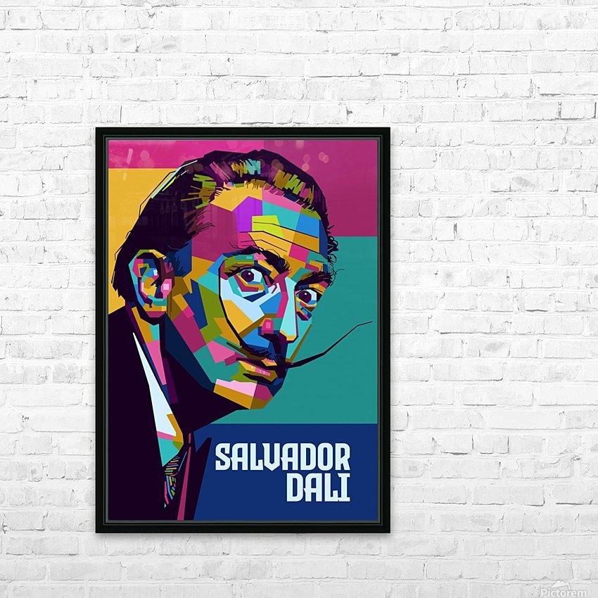 salvador dali HD Sublimation Metal print with Decorating Float Frame (BOX)