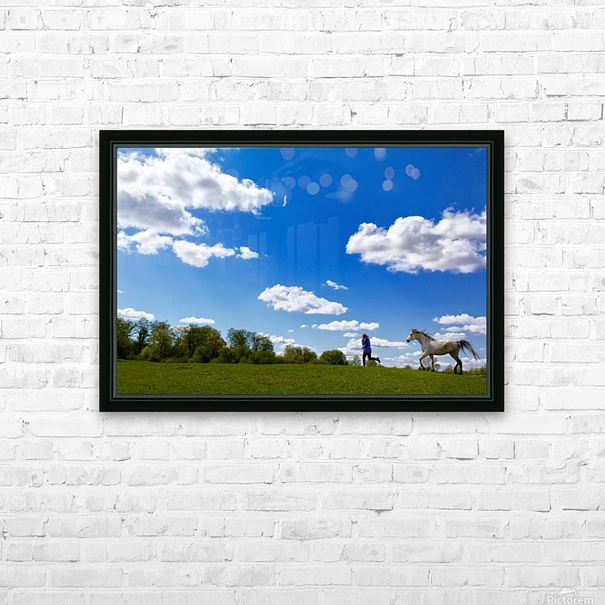 United at Last HD Sublimation Metal print with Decorating Float Frame (BOX)