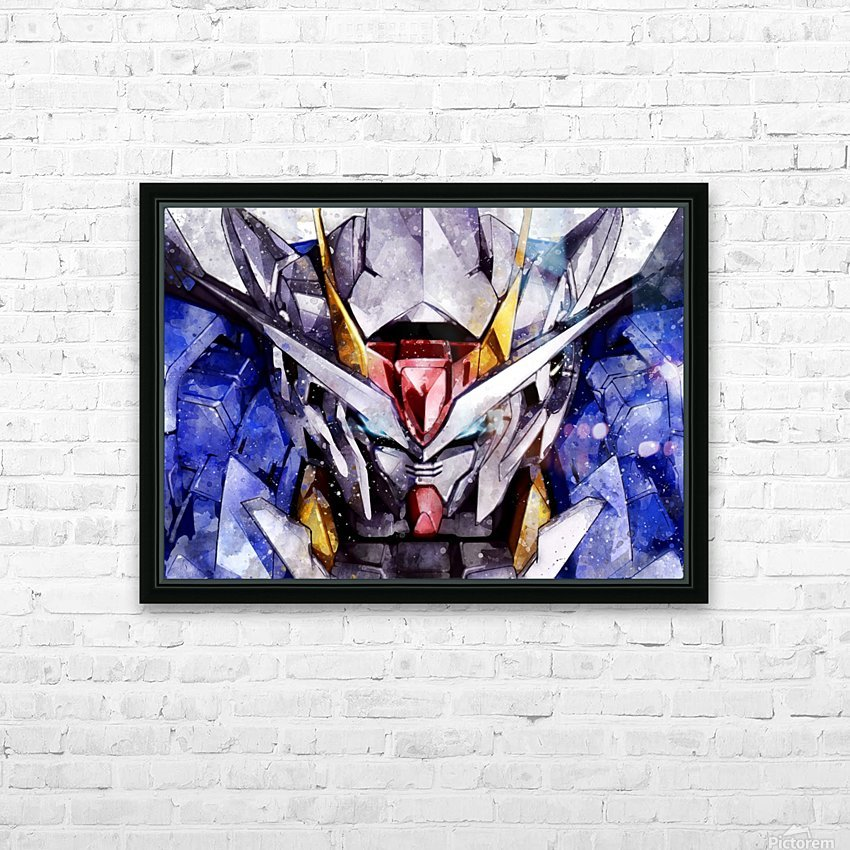 Gundam HD Sublimation Metal print with Decorating Float Frame (BOX)