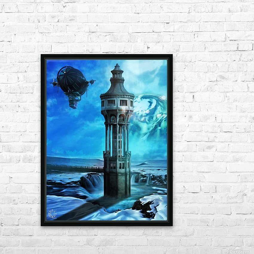 The North Tower HD Sublimation Metal print with Decorating Float Frame (BOX)
